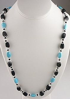 IDEA: Classic Turquoise Necklace (eebeads.com)  ~ FREE INSTRUCTIONS