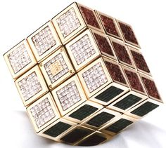 The World's most expensive Rubik's Cube - $1.5 million - Covered in diamonds