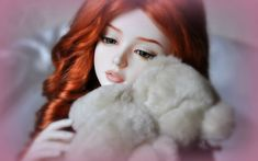 Some Cute Dolls Which I Love to See! — Steemit Happy Names, Happy Pics, Name Pictures, Profile Pictures, Teddy Bear Pictures, Online Photo Editing, Beautiful Barbie Dolls, Pictures Online, Beautiful Redhead