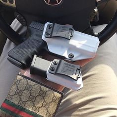 Glock 9/40 Double Stack IWB/OWB Single Kydex Mag Carrier - Echo Carrier