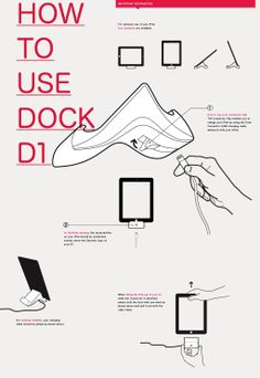 How To Use - Dock D1 for iPad 4th generation - English