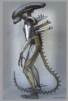 Alien by Tomas Vitanovsky   www.vitanovsky.com