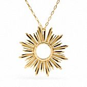 Coach Sunburst Necklace