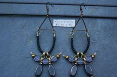 Bohemian Tribal earrings - really awesome Etsy listing at https://www.etsy.com/pt/listing/252595808/brincos-com-um-estilo-boemio-tribal-a