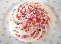 Beautiful Cake Pictures: Pretty Sprinkles Cupcake For Kids Birthday: Birthday Cupcake, Cupcakes With Candy, Kids Cupcakes Pastel Cupcakes, Sprinkle Cupcakes, Kid Cupcakes, Birthday Cupcakes, Cupcake Cakes, Beautiful Cake Pictures, Beautiful Cakes, Sprinkles Recipe, Rainbow Sprinkles