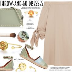 Easy Peasy: Throw-and-Go Dresses by totwoo on Polyvore featuring TIBI, Valentino, Urban Decay and By Terry