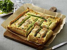 Lachs-Spargel-Tarte Rezept