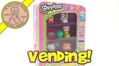 Shopkins Vending Machine, Store All Of Your Shopkins! Bonus 5-Pack  #ShopkinsVendingMachine #MooseToys #Season3