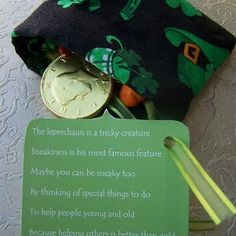 Family service project challenge for St. Patricks day to go with the financial literacy leaves.