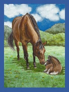 """Mare Foal Horse Field Mini Flag by Custom Décor, Inc.. $3.59. Flag Measures Approximately 12"""" x 18"""". Bright Beautiful Artwork. 100% Polyester - Fade & Mold Resistant. Permanently Dyed with a Vivid Color Process. Garden Flag Outdoor Décor. ##############################################################################################################################################################################################################################################..."""
