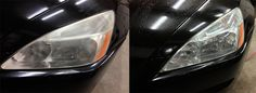 Headlight Restoration - Have hazy headlights? Save money by getting a professional he... #ReferLocal