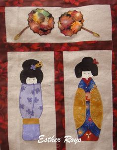 japanese doll quilt - Google Search