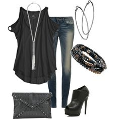 """""""Girls night out!"""" by susanapereira on Polyvore"""