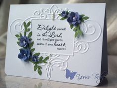 card embossed frame--like the embellies on this.