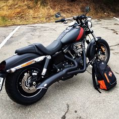 2014 Harley Davidson FXDF Fat Bob, that exhaust is pretty sick