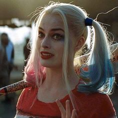 When some says 'What's Harley Quinn'a super power??' I say 'bitch please'