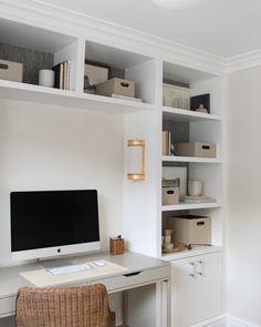 Study desk Seattle Homes, Home, Floating Shelves, Desk, Shelves, Interior, Study Desk, Room