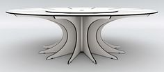 I want to start working with construction methods like this to make furniture out of acrylic on the CNC router