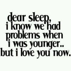 Fighting sleep...