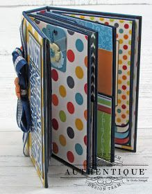 [This is truly a mini! Has great tutorial] Scraps of Life: Summertime Mini Album Tutorial Album Photo Scrapbooking, Mini Scrapbook Albums, Scrapbooking Layouts, Mini Album Scrap, Mini Photo Albums, Mini Album Tutorial, Handmade Books, Handmade Cards, Bookbinding