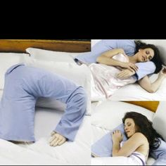 Bahahahaha! Boyfriend Pillow..... Guess I should invest in one of these!