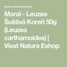 Maral - Leuzea Šuštivá Koreň 50g (Leuzea carthamoides) | Vivat Natura Eshop Math Equations