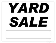 free printable yard sale signs juve cenitdelacabrera co