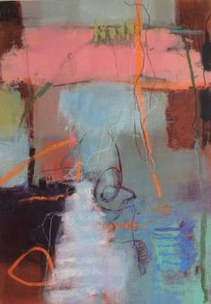 "Saatchi Art Artist Linda Coppens; Painting, ""Bridging the gap n°2"" #art"