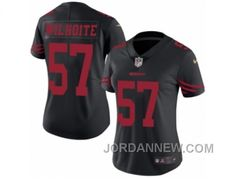 http://www.jordannew.com/womens-nike-san-francisco-49ers-57-michael-wilhoite-limited-black-rush-nfl-jersey-top-deals.html WOMEN'S NIKE SAN FRANCISCO 49ERS #57 MICHAEL WILHOITE LIMITED BLACK RUSH NFL JERSEY FOR SALE Only $23.00 , Free Shipping!