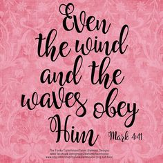 SVG DXF & PNG Even the wind and waves obey by MyFunkyFarmHouse
