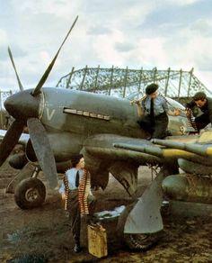 Hawker Typhoon Mk Ib. 1945