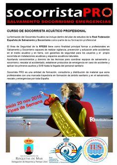 Curso socorrista acuático Roquetas noviembre 2015