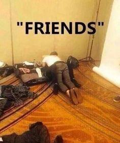 Mais que amigos, friends