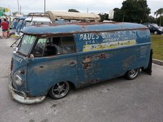 VW Bus with a bit of patina