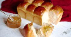 Milk- and butter-enhanced sandwich bread.