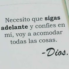 ❤ Solo en ti confio, Mi Dios <3