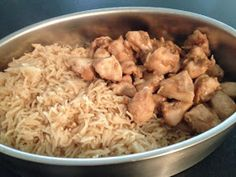 Recipe Easy Peasy Varoma Garlic & Soy Chicken and Rice by Nats Thermomixen in the Kitchen, learn to make this recipe easily in your kitchen machine and discover other Thermomix recipes in Main dishes - others. Cantaloupe Recipes, Radish Recipes, Kitchen Recipes, Cooking Recipes, Healthy Recipes, Free Recipes, Healthy Food, Soy Chicken, Steamed Chicken