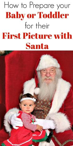 first picture with santa how to prepare your baby or toddler christmas gift