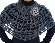 345 Mejores Imagenes De Bufandas Cuellos Estolas Yarns Ponchos