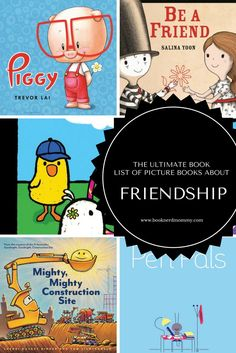 Picture books that focus on friendship and are great for teaching preschool social skills. Preschool Social Skills, Preschool Lesson Plans, Preschool Books, Book Activities, Kindergarten Classroom, Classroom Ideas, Teaching Friendship, Preschool Friendship, Friendship Theme