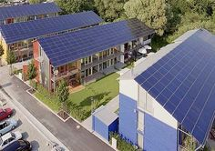 Solar Village, Freiburg, Germany. Are they living in the future or are we just living in the past?