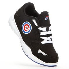reputable site 0310f aac93 FILA Chicago Cubs Flex Athletic Shoes - Boys Wolverines, Boys Shoes,  Robins, Cubbies
