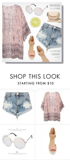 """""""YESSTYLE.com"""" by monmondefou ❤ liked on Polyvore featuring One Teaspoon, Hotprint, JY Shoes and BeiBaoBao"""
