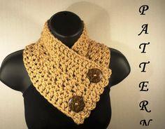 Crochet Pattern Crochet Scarf Pattern von VillaYarnDesigns auf Etsy