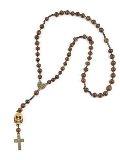 Dynamic 7 Rosary Necklaces Lot Religious Prayer Beads Wood Plastic Woven Metal Crucifix Jewelry & Watches Jewelry Sets