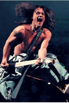 Eddie Van Halen #guitarra #musica #music #rocks Eddie Van Halen, Alex Van Halen, Tv Show Music, Music Film, Rock And Roll History, Metal Songs, Heavy Metal Rock, Women Of Rock, Greatest Rock Bands