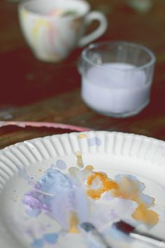 DIY Watercolor Mug | Free People Blog #freepeople