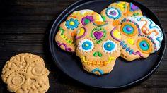 Galletas de Mantequilla de Maní de 3 Ingredientes para el Día de los Muertos