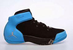 Jordan Melo 1.5 Retro Black/Carolina Blue Sneaker (Detailed Look)