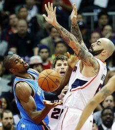 Oklahoma City Thunder vs. Atlanta Hawks - Photos - January 23, 2015 - ESPN